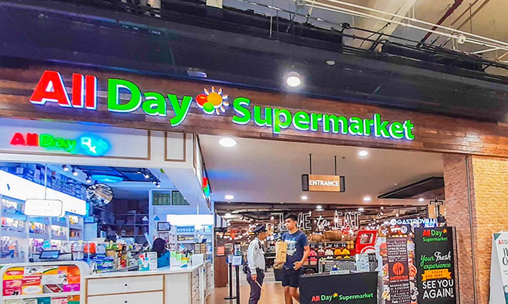 All Day supermarket - All Day supermarket pasaway sa SRP