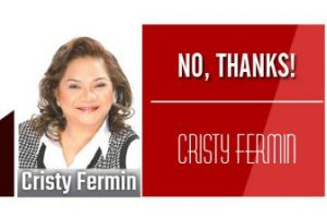 Cristy Fermin No Thanks 81 300x200 - Male personality semplang ang career