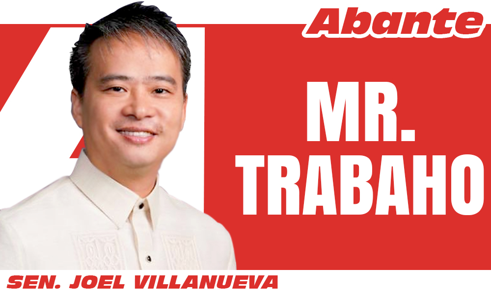 EDITORIAL LOGO MR TRABAHO Joel Villanueva - Reporma sa LET Law