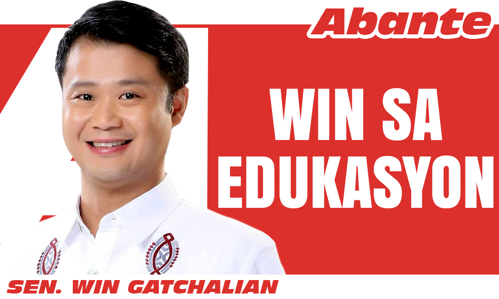 EDITORIAL LOGO win sa edukasyon Win Gatchalian - Pagtaas ng 'age of sexual consent' vs child marriage pinanukala