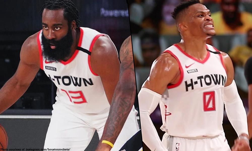 Houston Rockets - Harden, Westbrook kinuyog ang Lakers