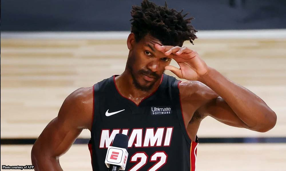 JIMMY - Butler pasiklab ng triple double