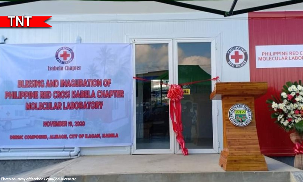 Red Cross - Red Cross may bagong COVID lab