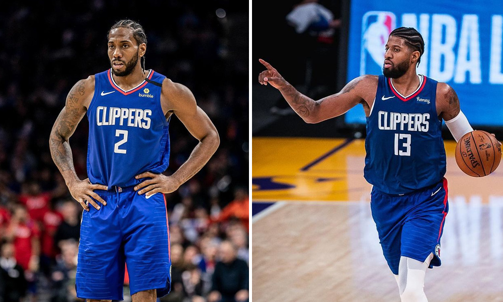 abante clippers - George, Leonard tinisod Lakers