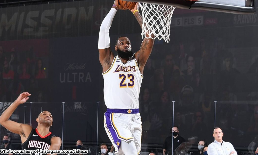 abante lebron james 1 - James, Lakers nambarako