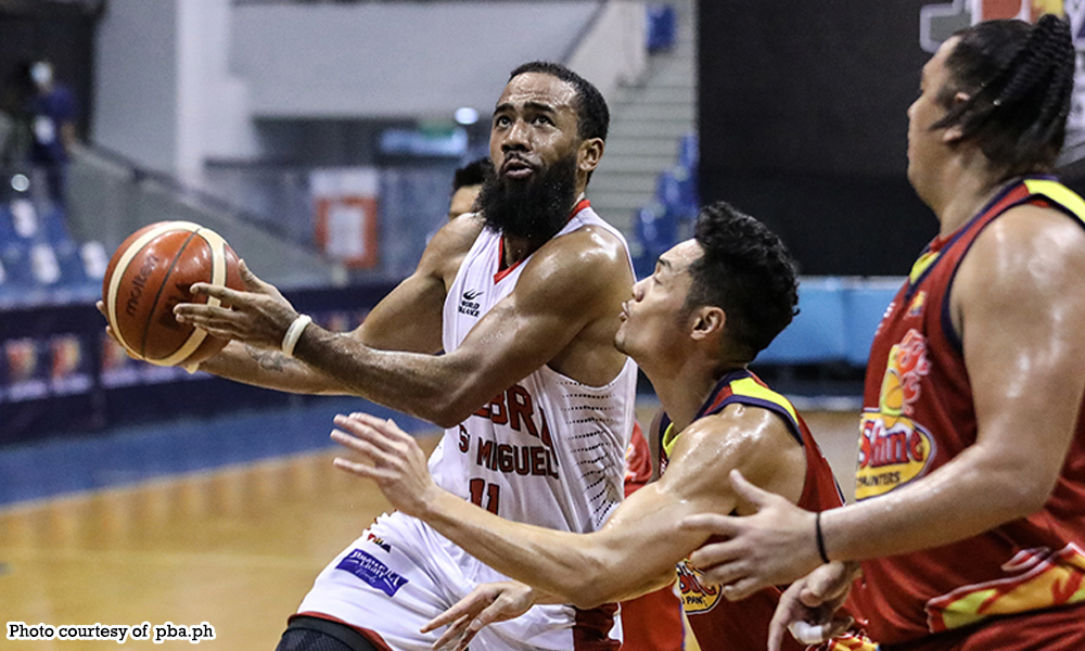 abante pringle - Pringle, Gin Kings pupundihin Bolts
