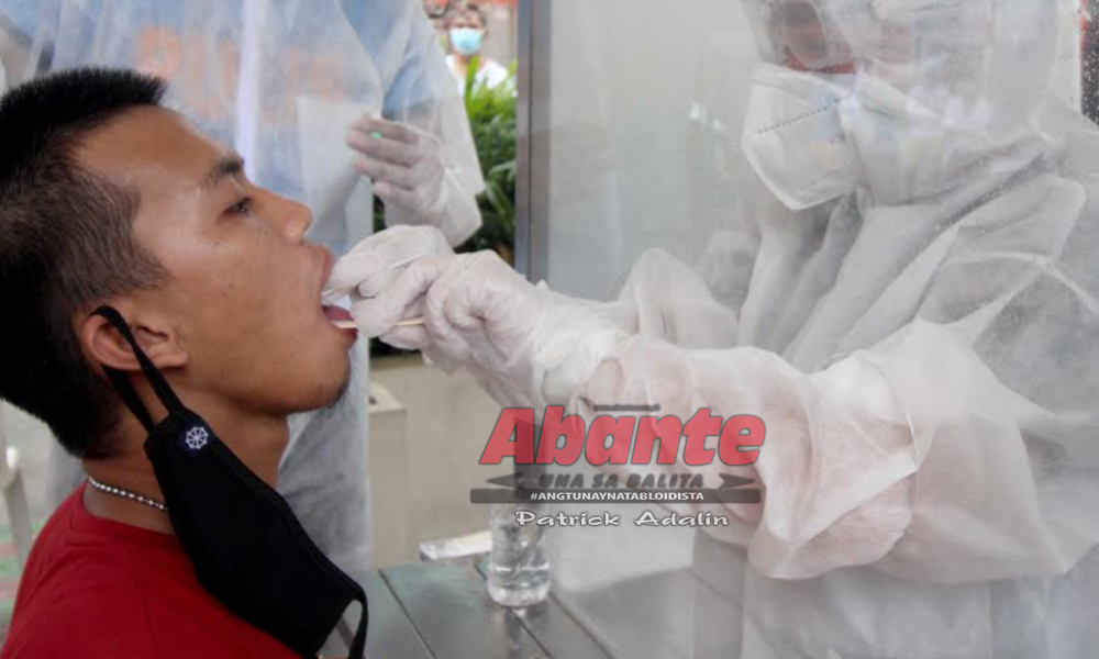 abante swab test - Mga Pinoy masunurin kaya bumaba COVID infection