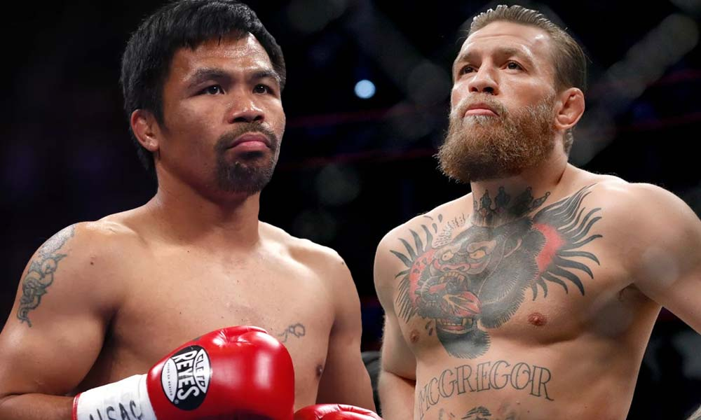 boxing 4 2 - Pacquiao gigil kay McGregor