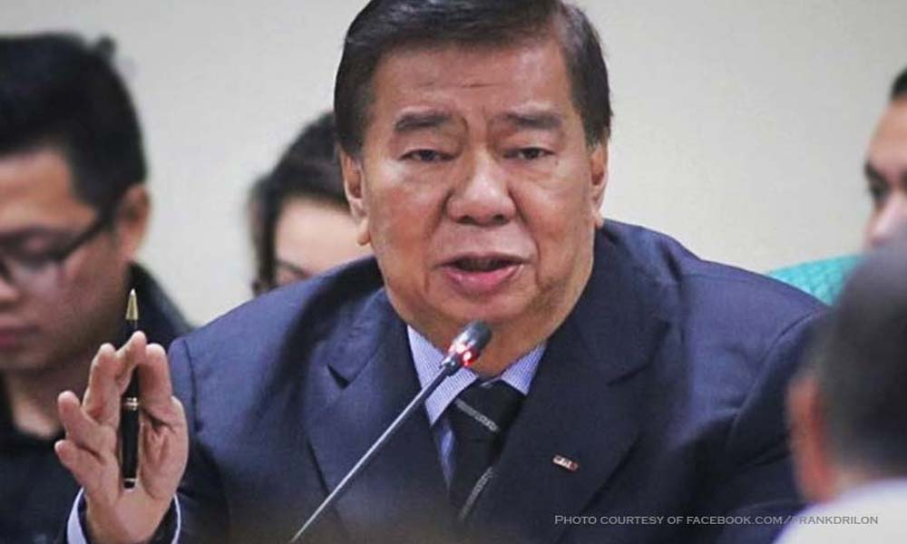 drilon 2 - Drilon sa anti-dynasty law: Hindi ako namemersonal