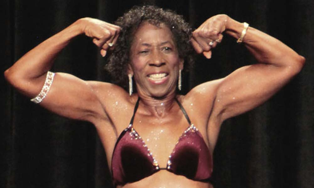 edith - Senior citizen umaribang bodybuilder