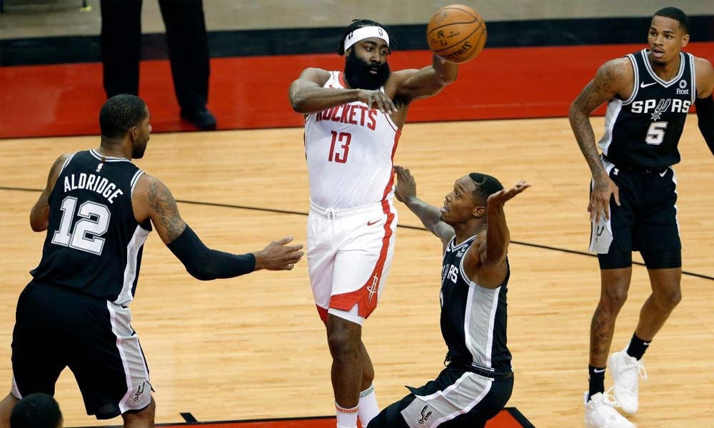 harden 3 - Harden, Wall tinibag Spurs