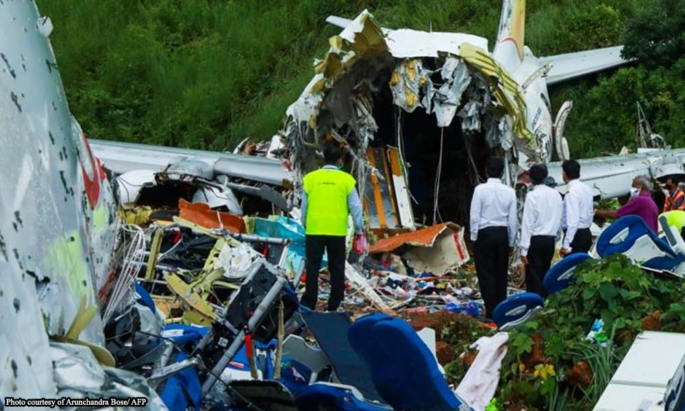 india plane crash - 18 patay sa India plane crash
