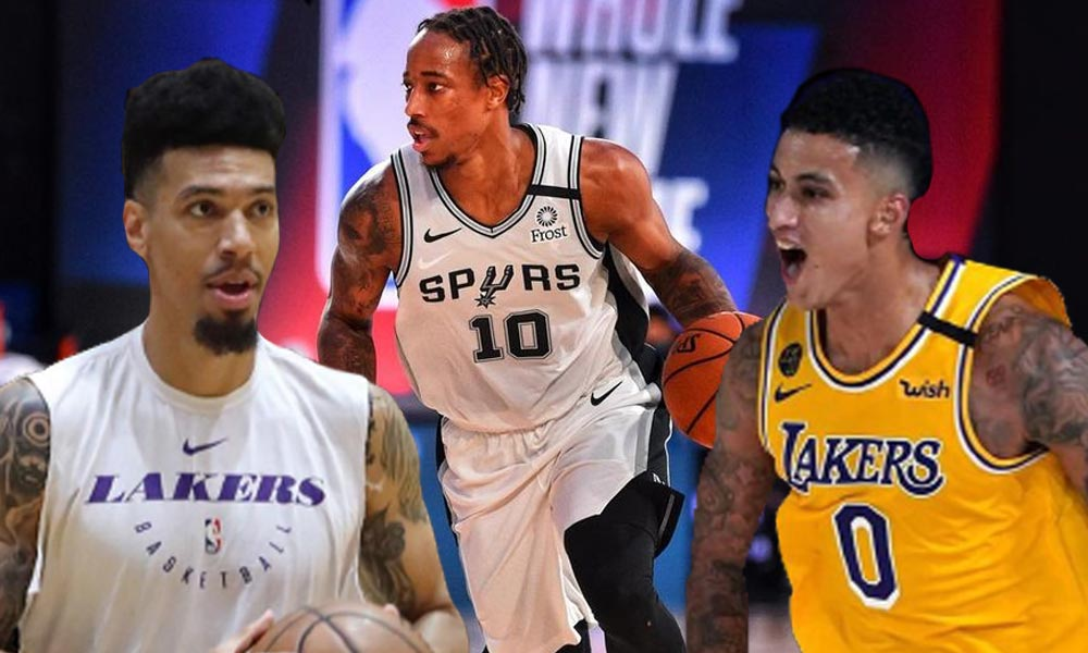 lakers spurs - DeRozan swap kina Kyle, Green