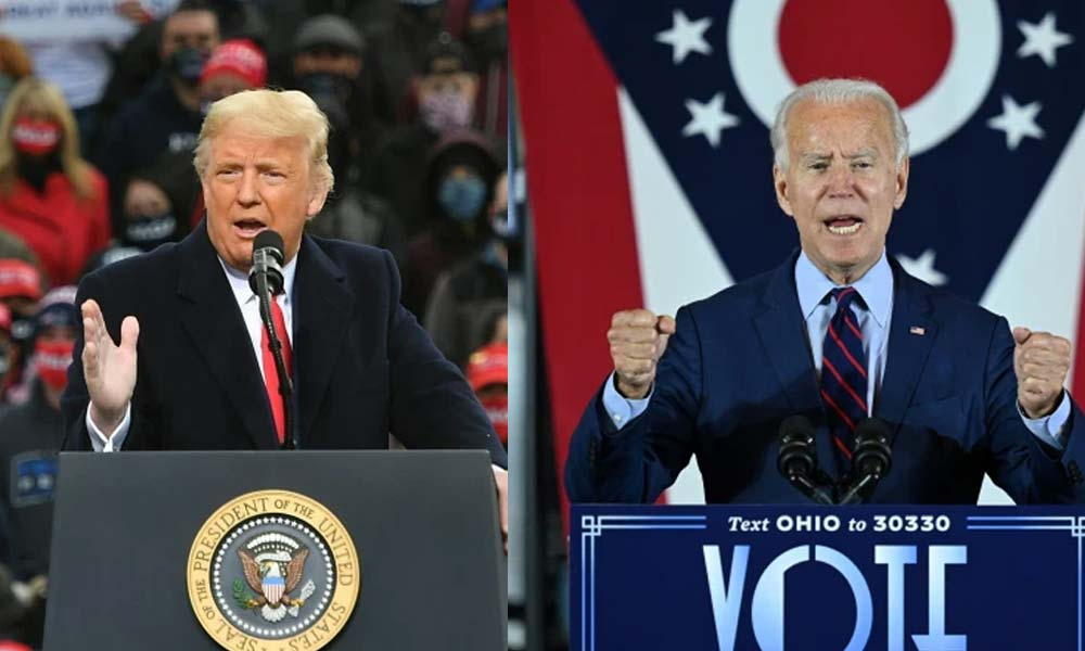 trump and biden - Biden binakuran ng Secret Service, Trump bitter pa rin